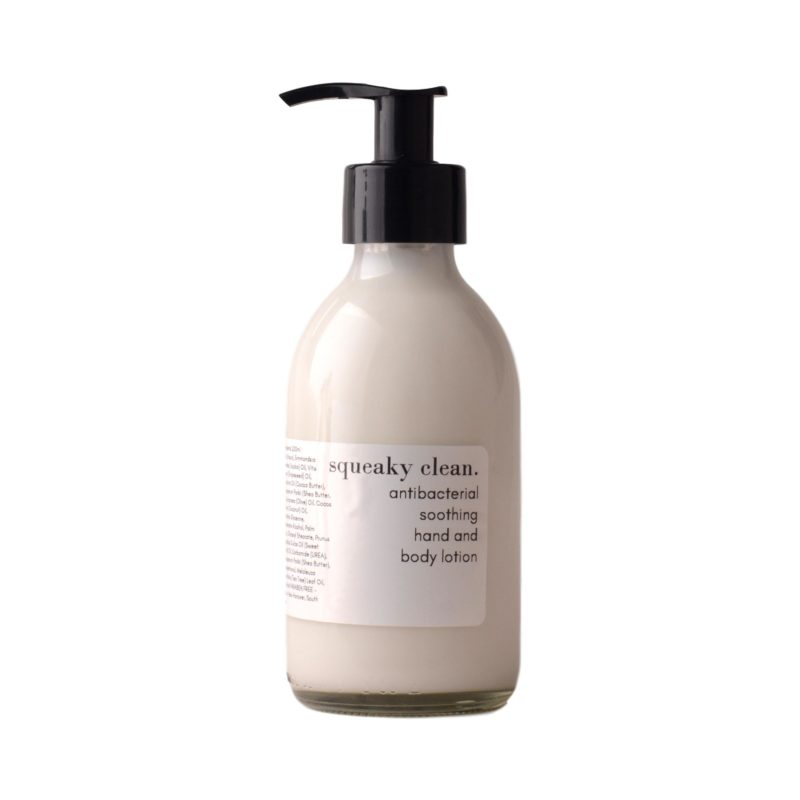 Squeaky-Clean-antibacterial-soothing-hand-and-body-lotion-200ml