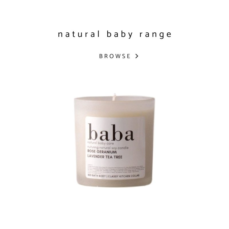 Bed Bath Body - natural baby range