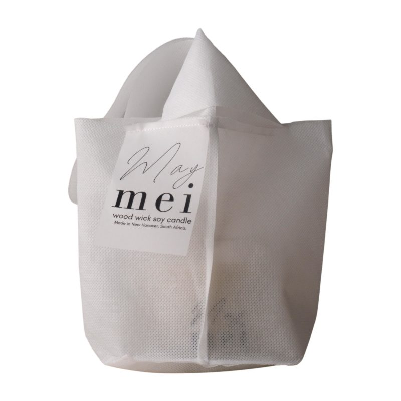 May-mei-wood-wick-soy-wax-candle-in-stitched-bag